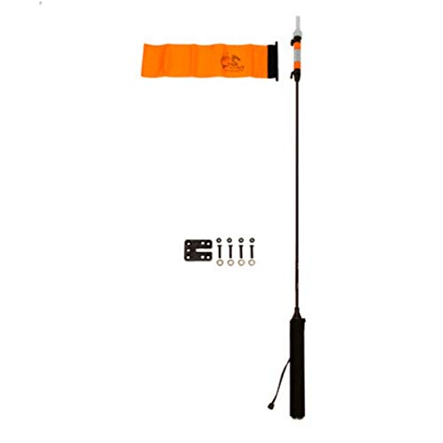 YakAttack VISIpole II GearTrac Ready, includes Flag