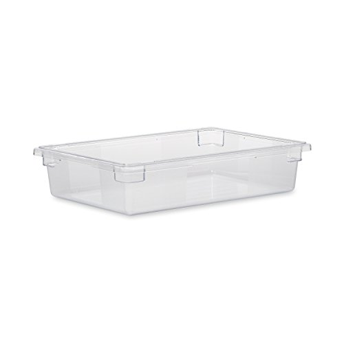 Rubbermaid Commercial FG330800CLR Food/Tote Box, 8.5-gallon
