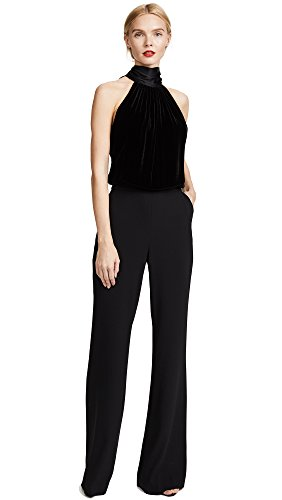 Ramy Brook Women's Paige Jumpsuit, Black, 2 by Ramy Brook