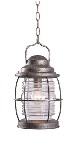 Kenroy Home 90955FL Beacon Hanging Lantern, Flint