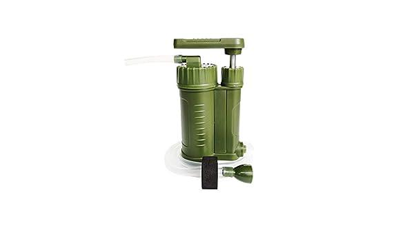MOFENGWU Filtro De Agua Al Aire Libre, 1000L Mini Personal Filtros De Agua Portátiles para Supervivencia Al Aire Libre Que Va De Excursión Emergencia: Amazon.es: Deportes y aire libre