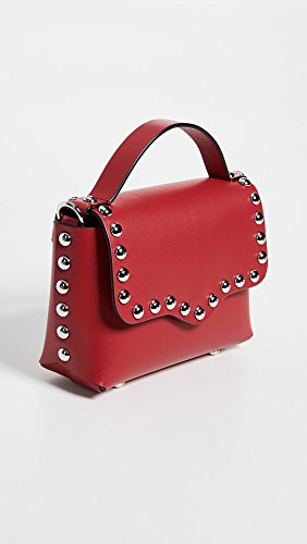 Blythe Women's Flap Bag Small Minkoff Cross Body Rebecca Scarlet Z4pqzSn