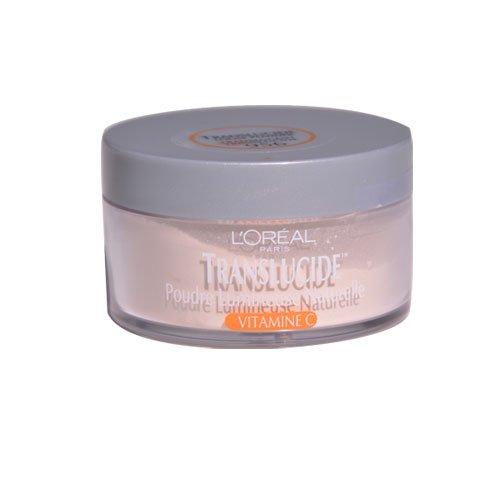 L'Oréal Paris Translucide Poudre libre naturellement lumineux, translucide, 0,5 once