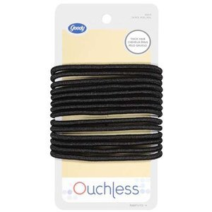 Amazon.com   Goody Hairhints  Ouchless Hair Ties For Thick Hair 14-Count  (Pack of 3)   Ponytail Holders   Beauty f087e670c33