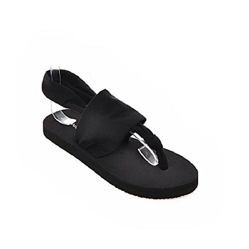 YMFIE Zapatillas de Playa Antideslizantes cómodas de Las Sandalias de Las señoras del Verano de Las Sandalias de la Chancleta B