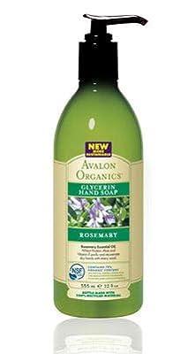 Avalon Organics Glycerin Liquid Hand Soap Rosemary -- 12 fl oz