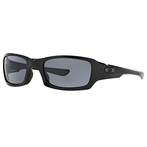 Oakley  Men's MPH Fives Squared Polarized Polished Black W/ Bronze - Polarized Oakley Bronze