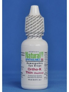 Natural Ophthalmics Ortho-K Thin Daytime Eye Drops, 0.5 Ounce