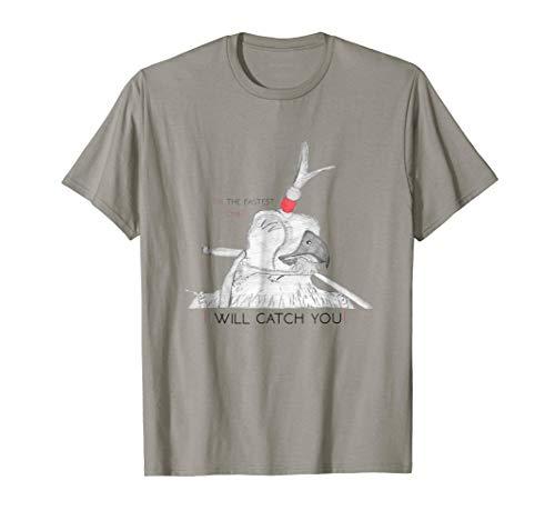 (Falconer T-Shirt: Falcon hood - I will catch)