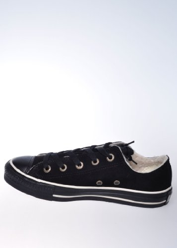 Converse Chuck Taylor All Star Buey Shearling Black / 117842 Color: Black - 44.5
