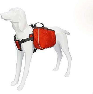 Alforja para Perro Ajustable 2 en 1 perro Mochila impermeable del ...