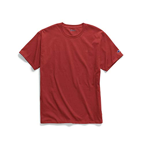 Champion Men's Classic Jersey T-Shirt, Scarlet, 2XL