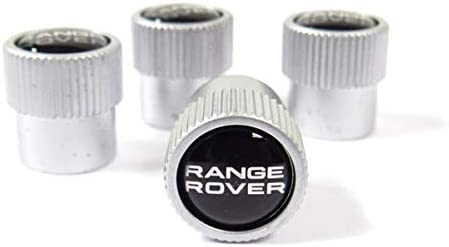 4pcs For Land Rover Car SV Logo Wheel Tire Valve Stems Caps Air Valve Covers