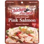 Chicken of the Sea Pink Salmon, Skinless-boneless, 5 Oz., (Pack of 12)
