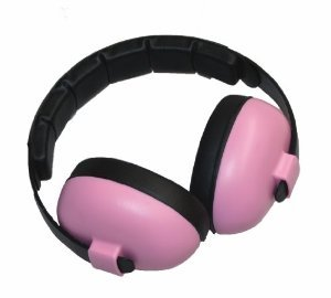 Baby Banz Earmuffs Infant Hearing Protection – Ages 0-2+ Years – THE BEST EARMUFFS FOR BABIES & TODDLERS – Industry Leading Noise Reduction Rating – Soft & Comfortable – Baby - Baby Banz Pink