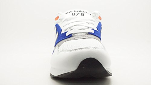 [ml878-ml878aab] New Balance Classics Classic Mens Sneakers New Balancewhite Black Blackm