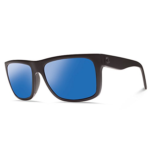 Electric Visual Swingarm S Matte Black/OHM+Polarized Blue Sunglasses by Electric