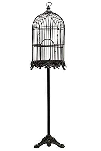 Renaissance 2000 Bird Cage with Stand, 16 by 16 by 59.8″