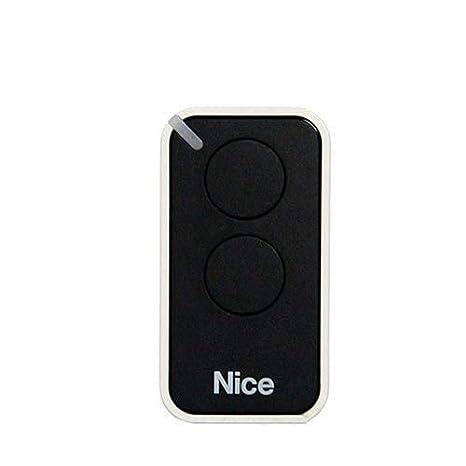 Mando a distancia Nice Era INTI; 2 canales. Color: negro: Amazon.es: Electrónica