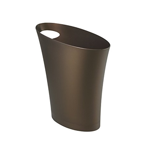 Umbra Skinny Trash Can – Sleek & Stylish Bathroom Trash