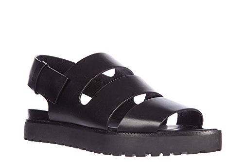 Alexander Wang Womens Leather Sandals Alisha Black nQfiwedBn