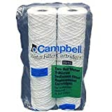 Campbell 1SHW Hot Water Sediment Cartridges,5 Micron, 9 3/4