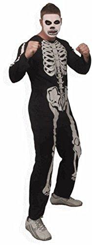 The Karate Kid Cobra Kai Skeleton Mens Costume -