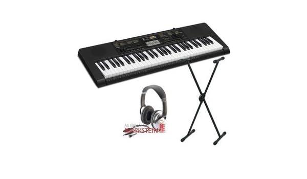 Casio CTK-1100 2400 Juego de Keyboard con passendem luxes: Amazon ...