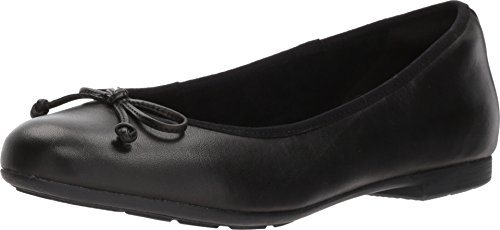 (Earth Womens Allegro Ballet Flat Black Soft Leather 7 M US)