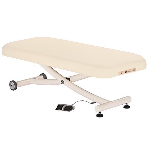 "EARTHLITE Ellora Electric Lift Massage Table VISTA – Most Popular Spa Lift Massage Table, Comfortable & Reliable, Flat/Tilt/Salon Top (28"", 30"", 32"" x 73"") – Made in the USA"