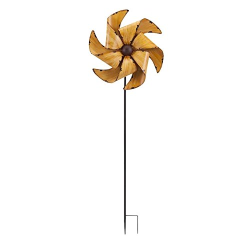 Imax April Whirly Gartenstecker, Gold