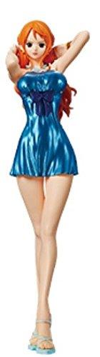 Scintillio Un 3 amp; Pezzo Blu 580 296 Millions 836291 25cm Figurine Banpresto Glamours Abito Nami aYv5wBppq