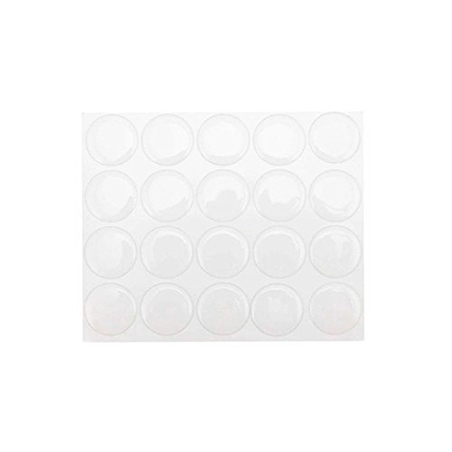 Clear Epoxy Sticker (yueton Pack of 100 Clear 1