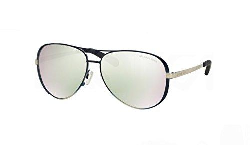 Michael Kors 5004 101545 59 MK Chelsea Navy Silver Mirror Sunglasses