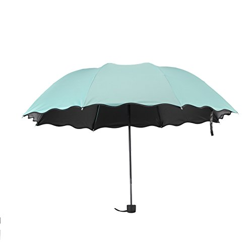 Fast Song Costumes (Ultralight Travel Umbrella, 50+ Sun UV Umbrellas Strong Windproof Compact Rain Umbrella (Green))