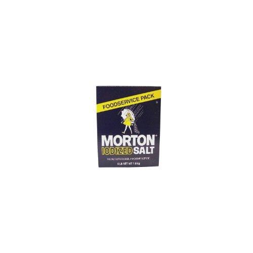 Morton Iodized Table Salt - 4lb. box (Pack of 3)