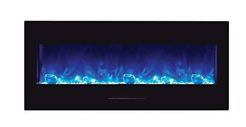 Cheap Amantii WM-FM-50-BG-ICE Wall Mount / Flush Mount Series Electric Fireplace with Ice Media Kit 50-Inch Black Friday & Cyber Monday 2019