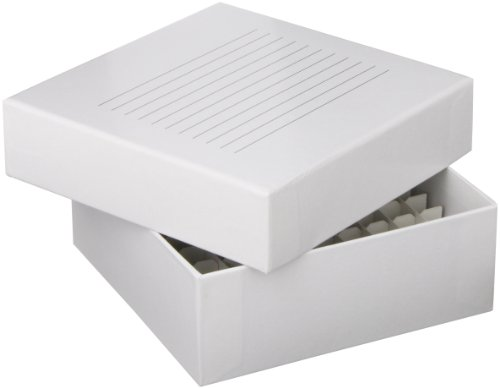 Globe Scientific 3092-1 Cardboard Storage Box for up to 2