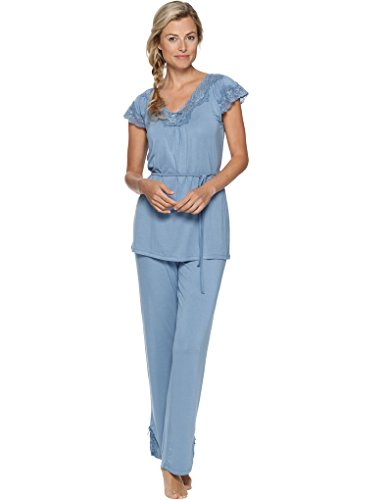 Pastunette Loungewear Soft Shade Dark Slate Blue Pyjama Set 2051-321-2 (442)