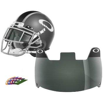 Oakley Shield - Accesorios para Casco de fútbol para Hombre, 60% Gris, Color