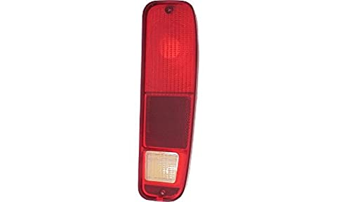 Evan-Fischer EVA15672052233 Tail Light for Ford F-Series 73-79 Econoline Van 75-91 LH Lens and Housing Left Side Replaces Partslink# - 1977 77 Ford Econoline Van