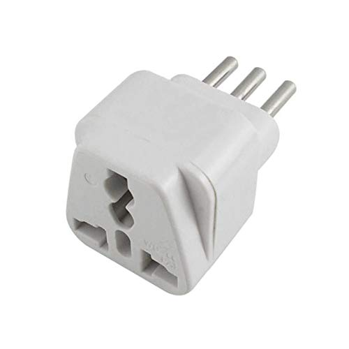 BIlinli Universal UK/US/EU/AU to Italy Italian Travel AC Power Adapter Converter Plug