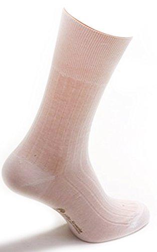 Daniel Jacob Men's 12 Pairs Luxury 100% Cotton For Diabetics 8-9 (UK) 42-43 (EU) 9-10 (US) White by Daniel Jacob