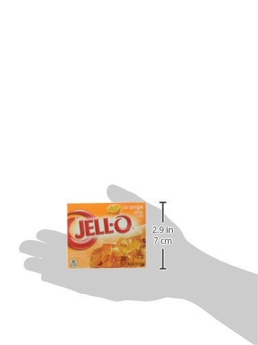 Jell-O Orange Gelatin Mix 3 Ounce Box by Jell-O (Image #8)