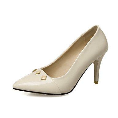 Zormey Heels Spring Summer Fall Club Shoes Pu Wedding Office &Amp; Career Dress Stiletto Heel Rivet US6.5-7 / EU37 / UK4.5-5 / CN37