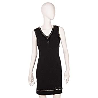Juelle Black Mixed Special Occasion Dress For Women