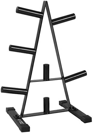 [Amazon.ca] 2 inch Olympic Weight Plate Rack/Tree – 500 pounds – $90