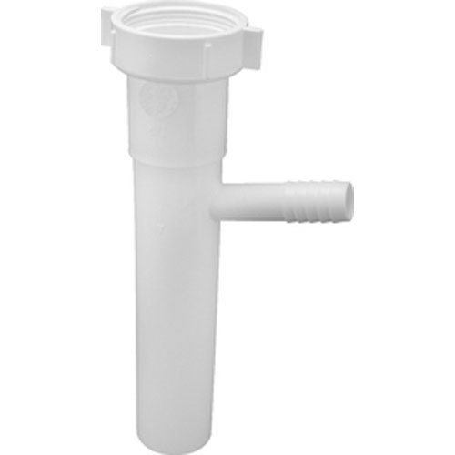 Keeney 31-8WRUK Direct Connect Branch Tailpiece with TPR Washer and 5//8 OD White 1-1//2 x 8 Standard Plumbing Supply 1-1//2 x 8