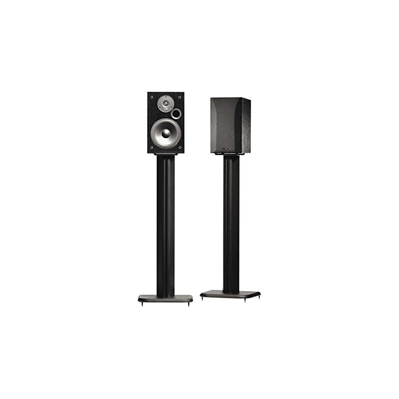 """SANUS BF31-B1 31"""" Speaker Stands for Boo"""