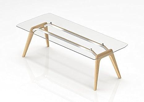 Scrivania Ufficio Piano In Vetro : Bralco scrivania direzionale rail con piano in vetro temperato